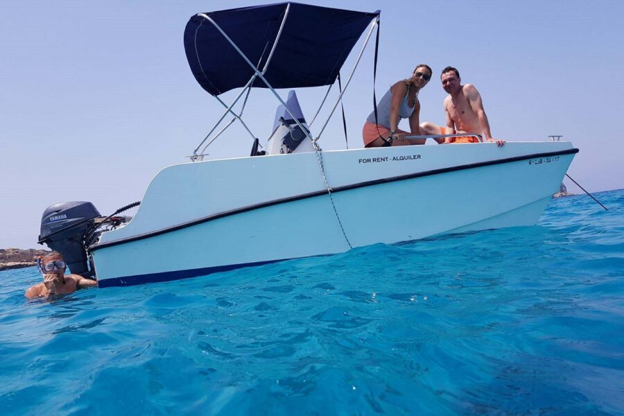 Boat rent without license | HETibiza